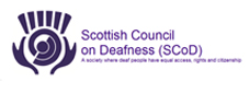 Scottish Council on Deafness  - Scottish Council on Deafness